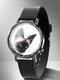 Animal Printed Men Business Watch Black-White Dogs Cats Pattern Women Quartz Watch - #10