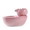 Distributeur d'eau pour chat fournitures pour chien de compagnie fontaine d'eau courante eau courante chat alimentation eau eau potable artefact Circulation automatique - Rose
