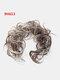 14 Colors Long Curly Wig Piece Disk Hair Caterpillars Hair Packs Bride Hair Extensions - #09