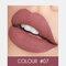 2 In 1 matten Lippenstift Lipgloss Double-Headed Design Wasserdicht Soft Smooth Cosmetic Lip Makeup - #07