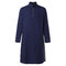 Mens Pathani Kurta Pyjama Индийские футболки с длинным рукавом Хлопковый этнический костюм Сплошной осенний топ с длинными рукавами