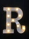 LED English Letter And Symbol Pattern Night Light Home Room Proposal Decor Creative Modeling Lights For Bedroom Birthday Party - #18
