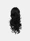 4 цвета длинное вьющееся волокно Парик повязки Волосы высокотемпературное - #01