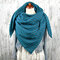 Women Casual All-match Thick Warmth Shawl With Buckle Printed Scarf - #2