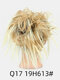 41 Colors Chicken Tail Hair Ring Messy Fluffy Rubber Band Curly Hair Bag Wig - 16
