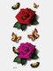 40 piezas 3D estéreo Impermeable tatuajes pegatinas escorpión flor transferencia de agua tatuaje pegatinas - 24