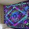 サイケデリックス天体太陽月タペストリー惑星ボヘミアンタペストリーウォールマウント寮装飾タペストリー - #2