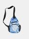 Women 3D Tie Dye Crossbody Bag Chest Bag Sling Bag - #20