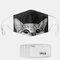 Cat Pattern Polyester Fashion Dustproof Mask With 7 Mask Gaskets - #03