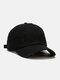 Coton unisexe trous cassés mode chapeau de baseball pare-soleil extérieur - Noir