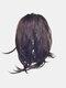 8 цветов Нерегулярный хвостик клипса Волосы Удлинения короткие вьющиеся Парик шт. - #02