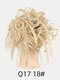 41 Colors Chicken Tail Hair Ring Messy Fluffy Rubber Band Curly Hair Bag Wig - 14