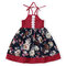 Flower Girl Dresses High Low Strap Princess Dress per 1-7 anni