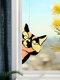 Cute Animal Pattern Hanging Decor Cat/Dog Print Sun Catcher Window Hanging Ornament Pendant For Window Wall Door - Yellow