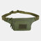 Men Nylon Multi-carry Multi-pocket Outdoor Tactical Camouflage Riding Waist Bag Sling Bag Chest Bag - #06