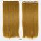 26 цветов длинные прямые Волосы удлинители 5 зажимов ложные Волосы шт. Высокотемпературное волокно Парик - 12