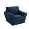 1/2/3 seaters Elastic Universal Sofa Cover Knitted Thicken Stretch Slipcovers for Living Room Couch Cover Armchair Cover - Navy