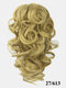 8 Colors Catch Clip Ponytail Hair Extensions Medium-Length Curly Chemical Fiber False Hair Pieces - #05