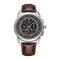 Texture Three Small Dial 24h Pantalla Semana Pantalla Reloj de cuarzo de moda para hombre - 1