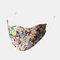 Multicolor Cotton Floral Mask Vintage Print Face Mask - #10