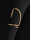 Elegant Opening Diamond Nail Ring Tail Ring - #08