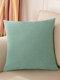 1 PC 45*45CM Simple Cotten Linen Cushion Cover Throw Pillow Cover Pillowcase Soild Pattern For Home Car Office Supplies - #04