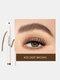 4 Fork Liquid Eyebrow Pencil Waterproof Natural Long-lasting Sketch Tattoo Eyebrow Pen - #03