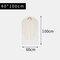 Transparent Clothing Dust Cover Coat Suit Dust Bag Cover Storage Bag - M