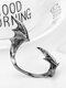 Three-dimensional Metal Bat-Shaped Ear Hook Vintage Animal-Shape Earrings - #08