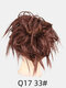 41 Colors Chicken Tail Hair Ring Messy Fluffy Rubber Band Curly Hair Bag Wig - 25