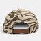 Men & Women Khaki Skull Cap Cotton Diverse Patterns Adjustable Cap - Khaki