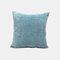 Couleur unie oreiller coussin salon canapé coussin plaine moderne minimaliste chevet taille taie d'oreiller - bleu