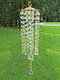1 PC Artificial Hanging Crystal Glass Exquisite Colorful Wind Chimes Furniture Garden Home Decoration - #01