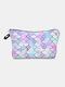 Multifunctional Portable Makeup Bag Fish Scale Women Travel Wash Storage Bag - #06