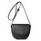Women Crocodile Pattern Saddle Crossbody Bag Casual PU Leather Shoulder Bag