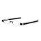 New Folding 360 Rotating Reading Glasses Unisex Pen Type Optical Glasses Eye Health Care - Black