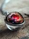 Vintage Double-Sided Glass Ball Women Necklace Universe Galaxy Nebula Pendant Necklace - #01
