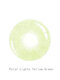 1 PC (For One Eye) Polar Lights Yellow Green Prescription Yearly Colored Contact Lens - Yellow Green