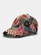 यूनिसेक्स कॉटन ब्रिटिश फ्लैग पैटर्न कैजुअल फैशन सनवीसर पीक कैप बेसबॉल टोपी - कॉफ़ी