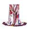 Женское Colorful Распечатать Bohemia Travel Пляжный Солнцезащитный крем Ethnic Винтаж Vogue Soft Шелковый шарф-шаль
