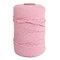 1Pc 200 mx4mm Colore Cotone Corda Filo di cotone Intrecciare la corda Mano FAI DA TE Decorativo Corda Arazzo Corda di tessitura - Rosa