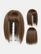 4 Colors Wig Replacement Block Fluffy Chemical Fiber Air Bangs Hair Extensions - #04