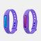 Anti Mosquito Capsule Bracelet Mosquito Repellent Silicone Wristband Mosquito Repellent Bracelet - lila