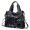 Women Oxford Galaxy Pattern Large Capacity Handbag Shoulder Bag Crossbody Bag