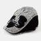 Men And Women Denim Stitching Flat Cap Fashion Outdoor Berets - Black