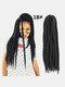 22 цвета цветная грязная коса Спираль длинная Волосы конский хвостик маленькая весна кудрявая Парик - #01