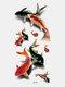 40 piezas 3D estéreo Impermeable tatuajes pegatinas escorpión flor transferencia de agua tatuaje pegatinas - 29