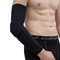 1Pcs Mens High Elastic Lycra Honeycomb Elbow Lengthened Anti-collision Basketball Sport Arm Sleeve