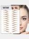 3D Eyebrow Tattoo Sticker Long Lasting Waterproof False Eyebrows Cosmetics - 16 Brown