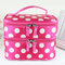 Large Capacity Double Layers Cosmetic Bag Cute Portable Travel Bag - #7
